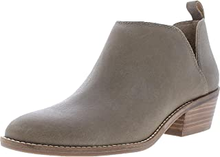 Lucky Brand Women's Fayth2 Ankle Boot, FOSSILIZED Leather, 7.5