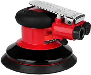 Valianto 5'' Air Random Orbital Palm Sander, Dual Action Pneumatic Sander with Speed Regulation