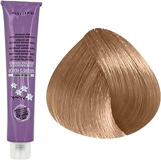 Maxima Nook Nature's Kolor Ammonia Free Permanent Hair Coloring Cream with Tea Tree Oil Formula 3.38 Oz (9.13 Very Light Blonde Ash Golden)