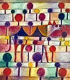Kunstdruck/Poster: Paul Klee Kamel in rhythmischer