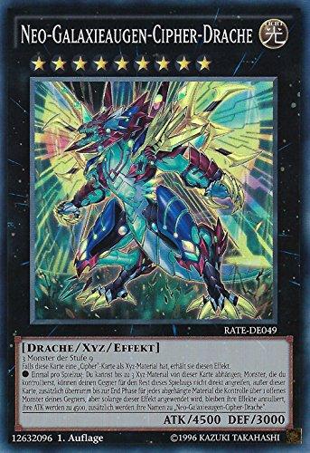 RATE-DE049 Neo-Galaxieaugen-Cipher-Drache deutsch 1. Auflage YU-GI-OH!