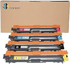 JC Toner Compatible TN-221BK TN-225C TN-225Y TN-225M Toner Cartridges for use with HL-3180CDW HL-3170CDW HL-3150CDW HL-3140CW MFC-9340CDW MFC-9330CDW MFC-9140CDN MFC-9130CW DCP-9020CDW-4 Pack