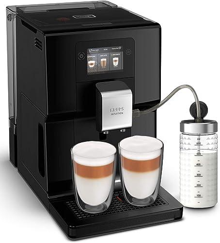 Krups Intuition Preference Machine à café à grain, Machine à café, Broyeur grain, Cafetière expresso, Cappuccino, Esp...