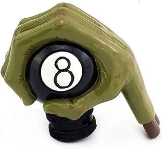 Thruifo MT Gear Shifter Head, Devil Hand Griping Billiard Style Car Shift Stick Knob Fit Most Manual Automatic Vehicles
