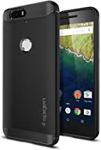 Nexus 6P Case, Spigen [Rugged Armor] Resilient [Black] Rugged Armor Ultimate protection and rugged design with matte finish for Nexus 6P (2015) - Black (SGP11797)