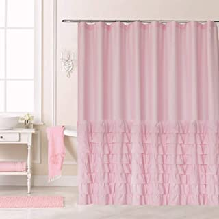 Ameritex Ruffle Shower Curtain Christmas Decor