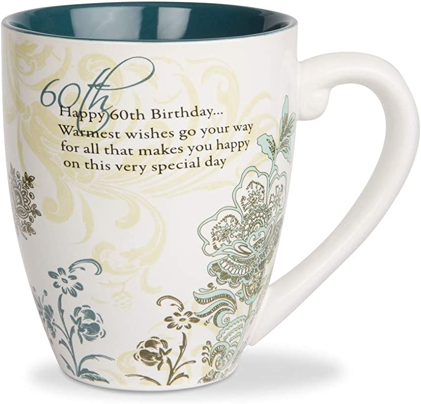 Pavilion Gift Company 66124 60th Birthday 17 Ounce Mug Pavilion Gift 4 3 4 Inch