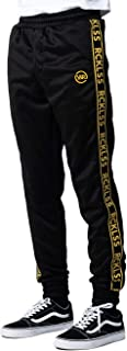 Young and Reckless - Pursuit Track Pants - Black - - Mens - Bottoms - Trackpants -