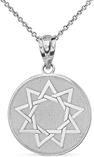 9 pointed star jewelry