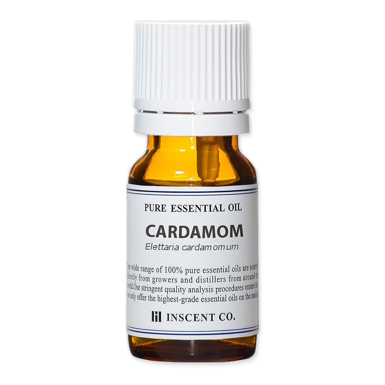 規模邪魔する予備カルダモン 10ml インセント アロマオイル AEAJ 表示基準適合認定精油