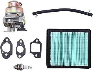 KSTE 16100-Z0L-023 Carburador con el Filtro de Aire for h-o-n-d-a Kit GCV135 GCV160 GC135 GC160 Motor HRB216 HRT216 Segadora de Piezas (Color Aleatorio de Accesorios)