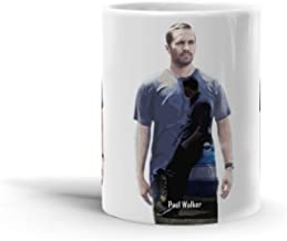 Ceramic Coffee Mug Television Show Cup Paul Walker Double Exposure Tv Shows Series Drinkware Super White Mugs Family Gift Cups 11oz 325ml
