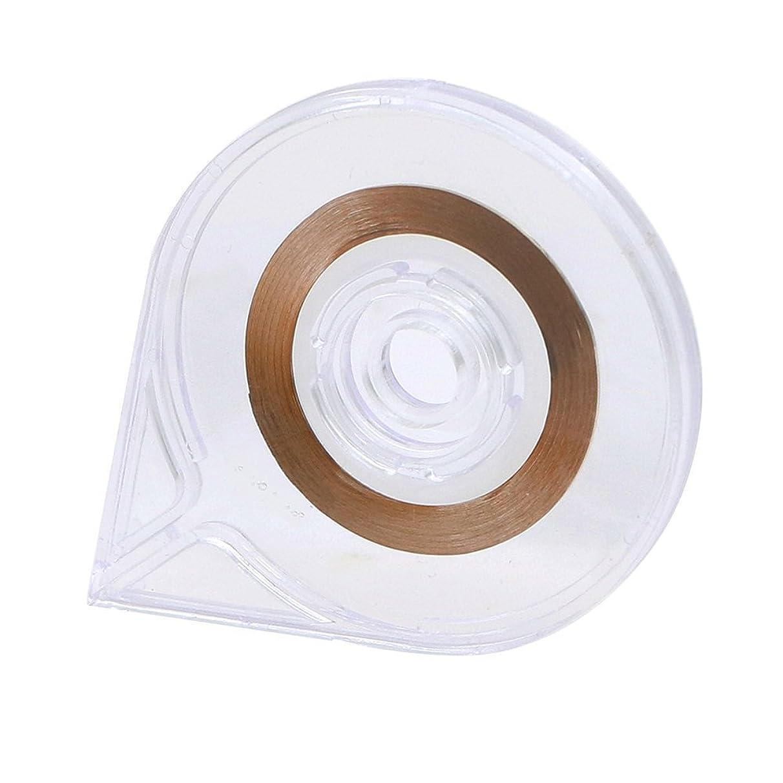 蒸発勇者啓示SODIAL(R) ネイルアート ストライピングテープラインケースツールステッカーボックスホルダー 使いやすいデザイン