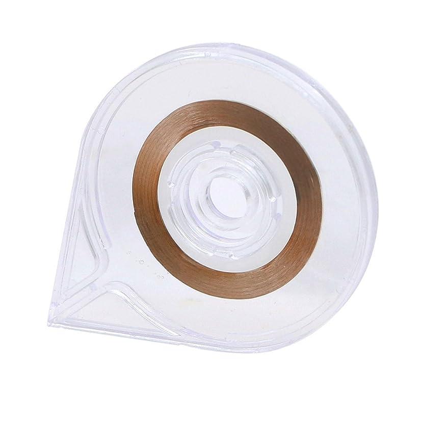 告白傭兵ネックレットSODIAL(R) ネイルアート ストライピングテープラインケースツールステッカーボックスホルダー 使いやすいデザイン