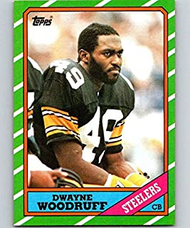 1986 Topps #290 Dwayne Woodruff Steelers NFL Football
