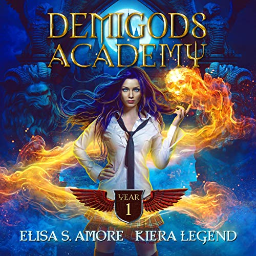 Demigods Academy: Year 1  By  cover art