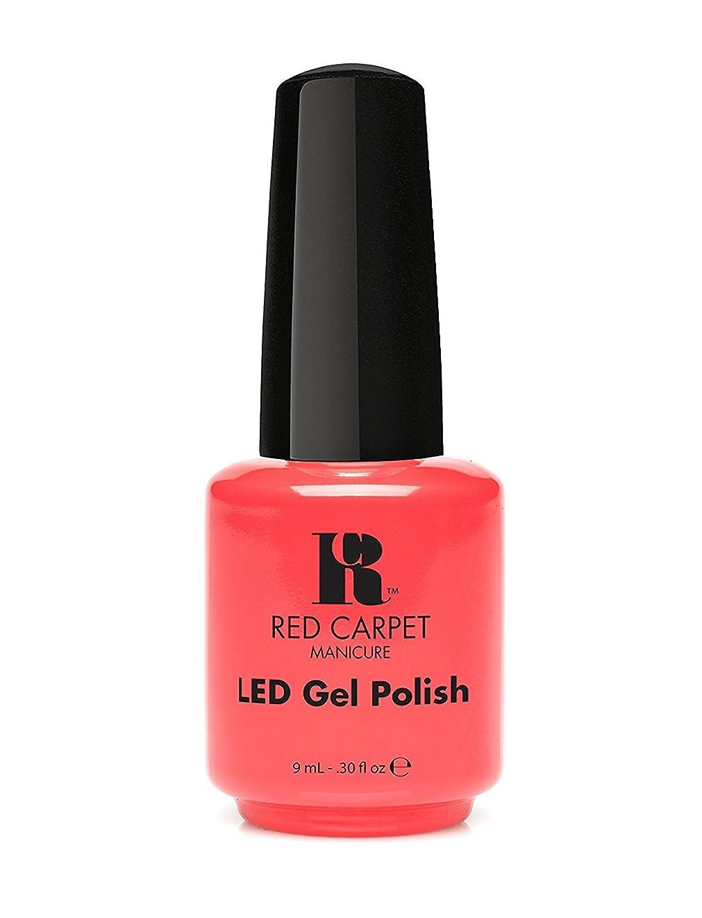 悲劇取り付けのりRed Carpet Manicure - LED Nail Gel Polish - Mimosa by the Pool - 0.3oz/9ml