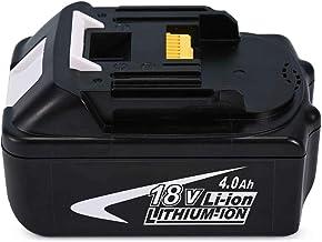NextCell Li-Ion 4.0Ah 18 Volt 18V battery for Makita BJR182 BJR182X BJR182Z BJS130 BJS130Z BJV180 BJV180Z BPB180 BPB180Z BSS501 BSS501Z BSS610 BSS610SFE BSS610X2 BSS610Z BSS611X BSS611Z BTD140
