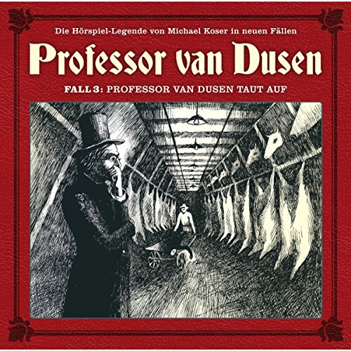 Professor van Dusen taut auf audiobook cover art