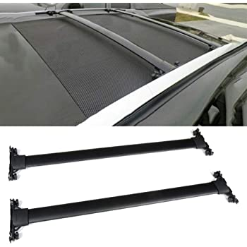 ROSY PIXEL Roof Rock Cross Bars for 2010-2015 Lexus RX350 RX450H Black