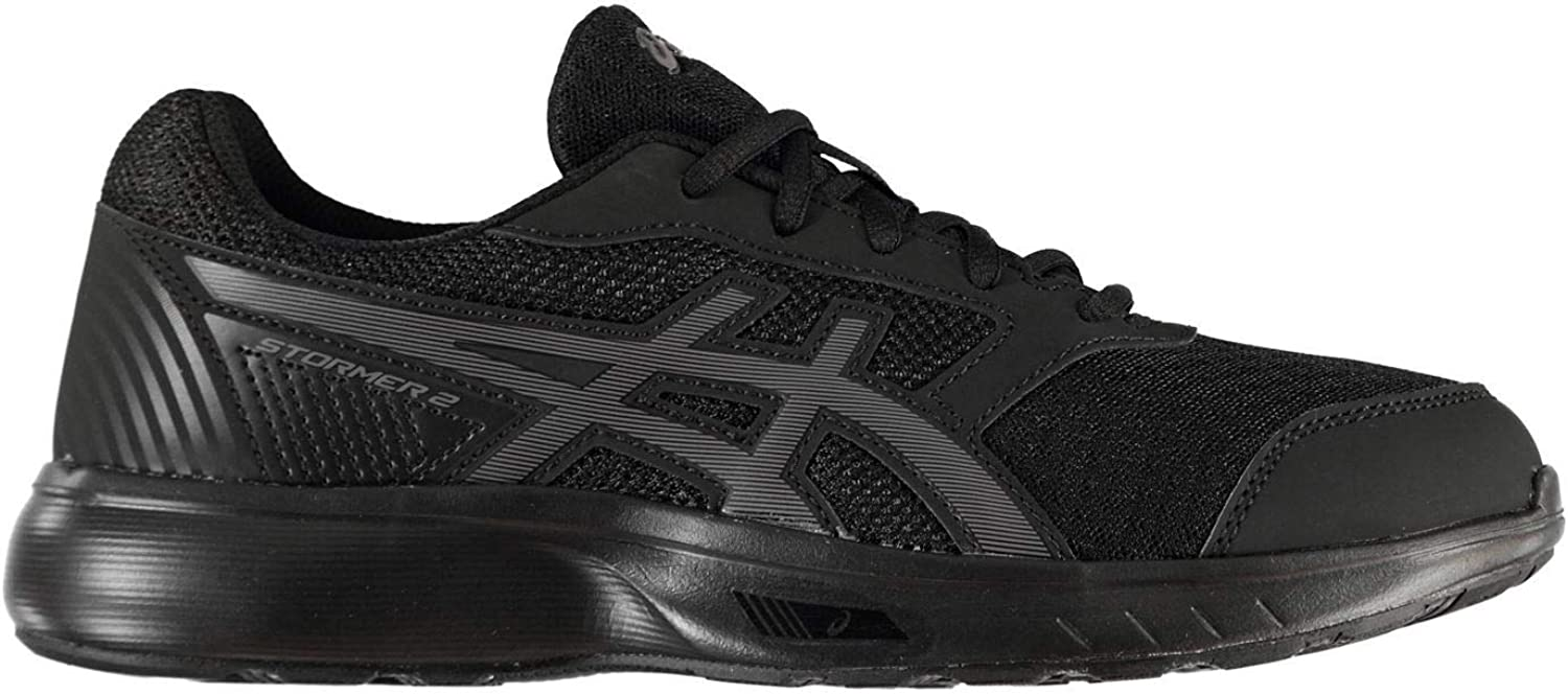 Official Asics Stormer 2 Running shoes Mens Fitness Jogging Trainers Sneakers
