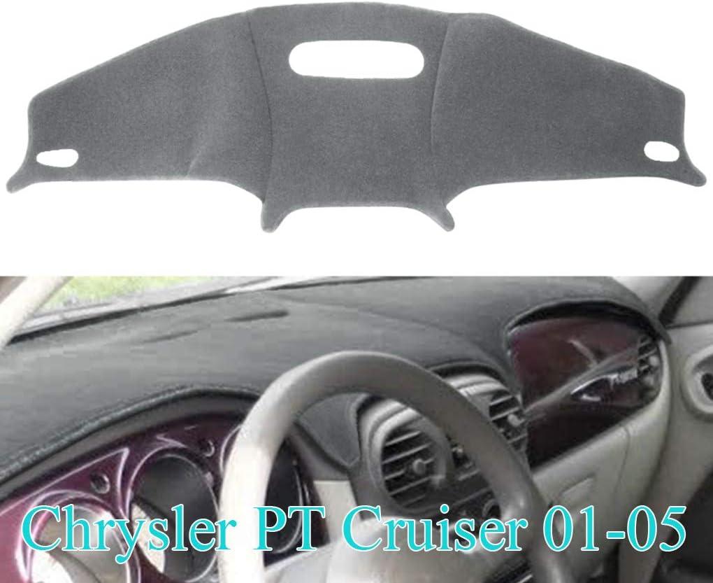 Fedar Dark Grey Dashboard Pad Dash Cover Mat For Chrysler PT Cruiser 2000-2005