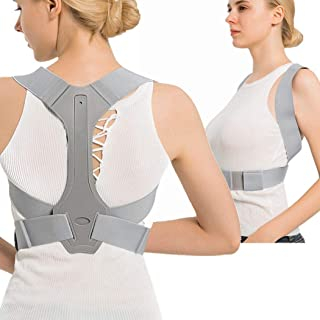 lifevv Back Posture Corrector for Kids & Women & Men + Adjustable Breathable - Effective and Comfortable Posture Brace and...