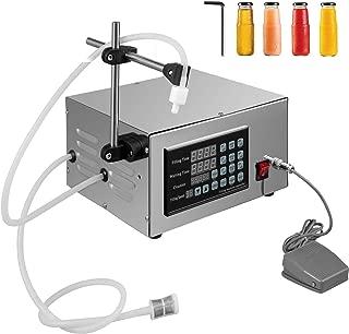 Happybuy XK-280 Liquid Filling Machine 5-3500ml Liquid Filler Machine 3.2L/min Liquid Bottle Filler Machine for Paste Cream Cosmetic