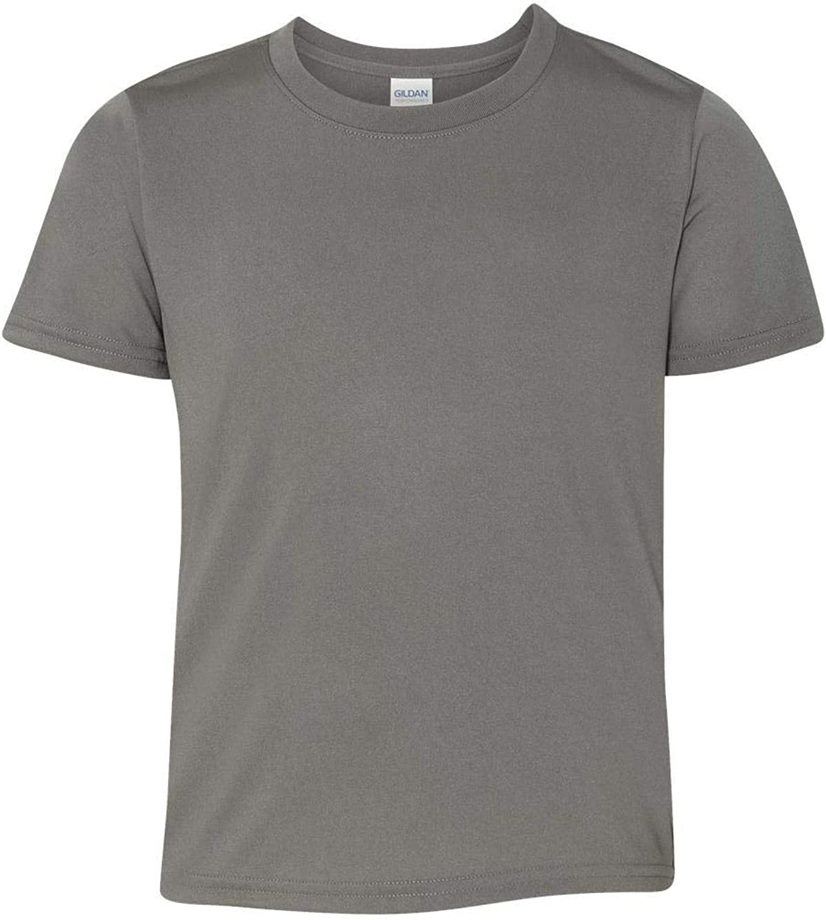 Gildan - Performance Youth Core T-Shirt - 46000B - XS - Charcoal