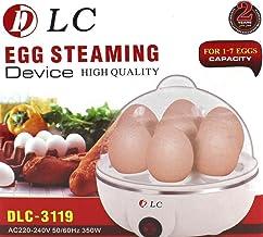 Egg Steaming Device, Egg Boiler for 7 eggs, White, DLC-3119, 350W