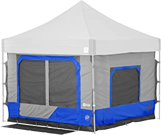 E-Z UP Camping Cube 6.4, Converts 10' Straight Leg Canopy...