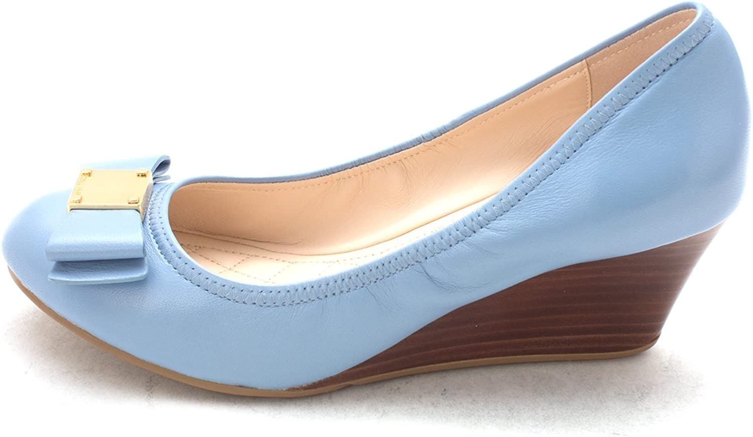 Cole Haan Womens 14A4337 Closed Toe Wedge Pumps
