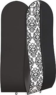 "Women's Long Dress Bag – Breathable Wedding Gown Garment Bag -72x24"", 10"" Gusset"