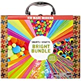 Kid Made Modern Smarts and Crafts Bright Bundle Craft Kit - Kids Arts and Crafts Supplies
