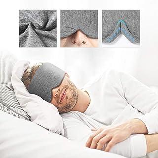 Handmade Cotton Sleep Mask - New Design Light Blocking Sleeping Eye Mask Soft and Comfortable Eye Shape Blinder Blindfold ...