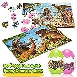 wetepuxi Juguete Niño 3 4 5 6 7 8 Años, Puzzles Infantiles Regalos para Niños de 2-10 Años Dinosaurios Puzzle Juguetes Educativos 3 4 5 6 Años Juguetes Montessori Cumpleaños Regalos Niñas 3-8 Años