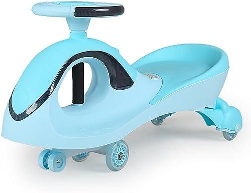 Kinder Spielzeug Auto Schütteln Das Auto Universal Rad Ungiftig PP Rohstoffe 3-7 Jahre Alt Jungen Und mädchen Auto (Farbe   Blau)