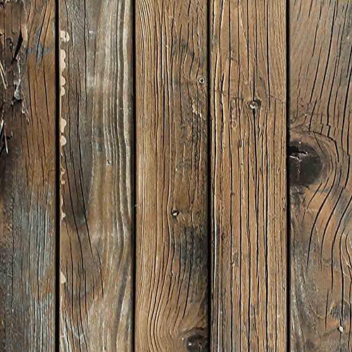 N / B Papel Tapiz de Madera Tablón Papel Tapiz Auto Adhesivo Decorativo Cubierta de Pared Estante Drawer Liner Roll Rollo de Madera Desmontable Papel Tapiz de Madera para Sala de Fondo Estante Inicio