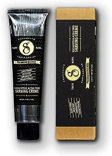 Suavectio Premium Blends Eucalyptus & Tea Tree Shaving Crème, 4 oz