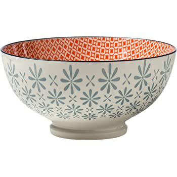 Torre /& Tagus Kiri Porcelain 4.5 Small Bowl Pinwheel