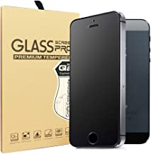 Sonto iPhone 5 5S 5C SE Matte Tempered Glass Screen Protector Anti-Fingerprint/Anti-Glare/Ultra thin/Touch Smooth (iPhone 5/SE)