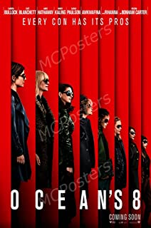 MCPosters Ocean's 8 GLOSSY FINISH Movie Poster - MCP247 (24
