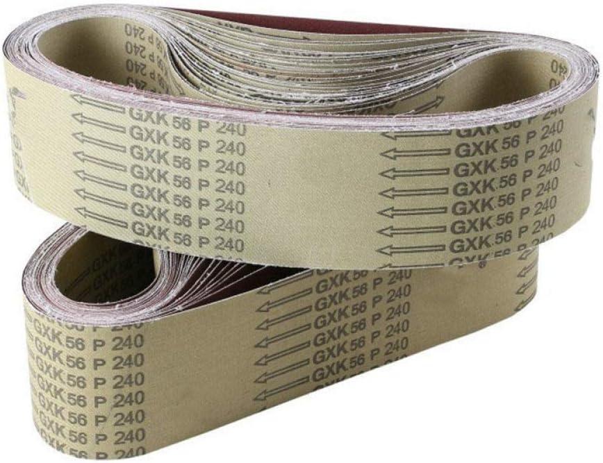 5Pcs Sanding Belts 915100mm Max 64% OFF 40-1000 Grindi Metal Assortment Tampa Mall Grit