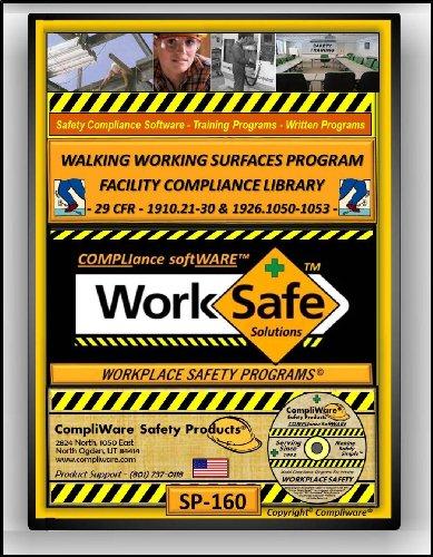 SP-160 - WALKING & WORKING SURFACE HAZARDS SAFETY COMPLIANCE LIBRARY - OSHA - 29CFR1910.21-30 & 29CFR1926.1050-1053 - UPC - 639737375473