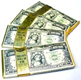 Chocolate Lovers Pack Of 4 Million Dollar Bill Currency Themed Milk Chocolate Candy Bars