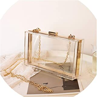 4eb2e68b9bc6 Amazon.com: Clear - Evening Bags / Clutches & Evening Bags: Clothing ...