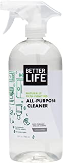 Life Natural All-Purpose Cleaner, Safe Around Kids & Pets, Unscented, 32 Fl Oz (Pack..