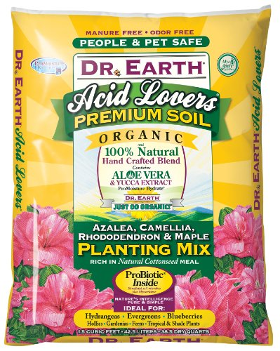 Dr. Earth 802 1-1/2 Cubic Feet Acid Lovers Planting Mix