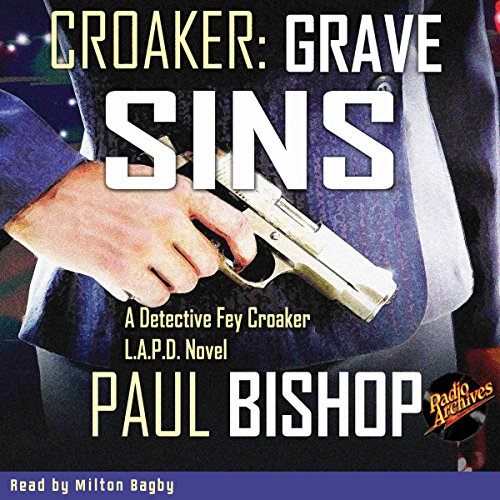 Croaker: Grave Sins audiobook cover art