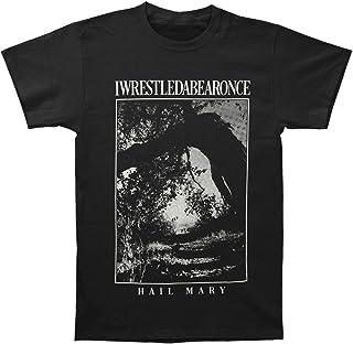 Iwrestledabearonce Men's Hail Mary T-Shirt Black